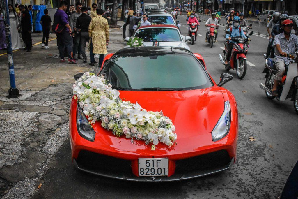 thuê xe hoa vip